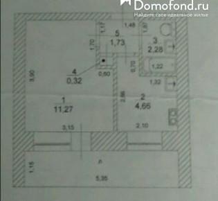 1-комн. квартира, 25 м², 1/9 эт.