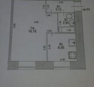 1-комн. квартира, 31 м², 4/5 эт.