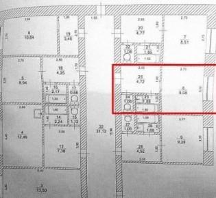 1-комн. квартира, 16.7 м², 1/5 эт.