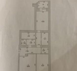2-комн. квартира, 77 м², 1/9 эт.